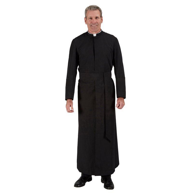 Cassock Roman R. J. Toomey Abbey Summertime Cathedral Year Rounder