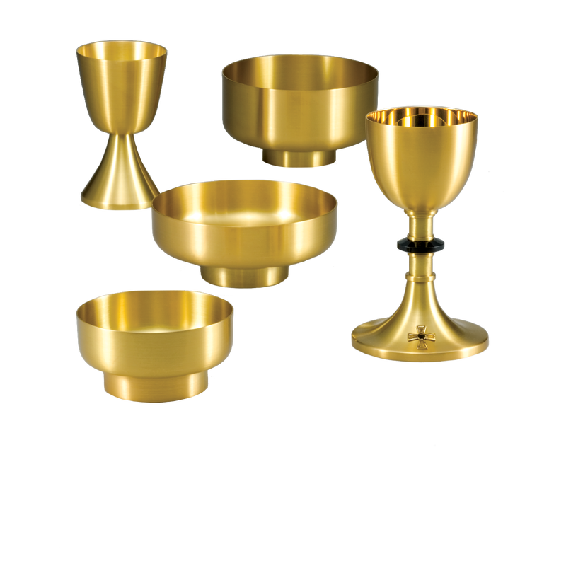 Communion Communionware Host Wine Chalice Bowl Ciborium Mass Ziegler
